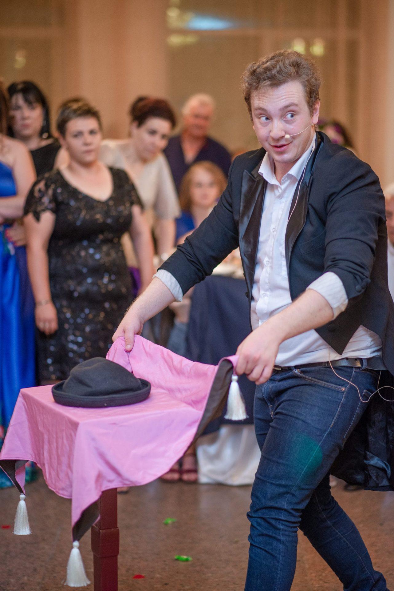 Magicianul Ciprian la nunta