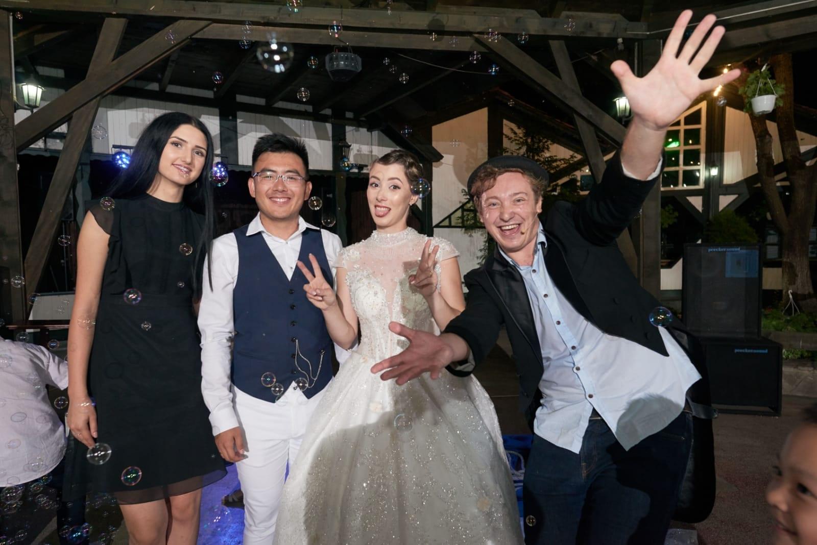 Nunta crazy si fermecata cu magie, Constanta, Bucuresti
